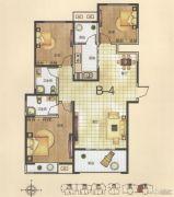 恒基时代广场3室2厅2卫139平方米户型图