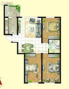 亿达帝景3室1厅2卫0平方米户型图