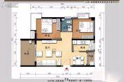 大同・南海馨居2室2厅1卫73平方米户型图