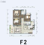 中粮珑悦锦云3室2厅2卫0平方米户型图