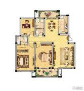 恒景国际花园 多层3室2厅2卫135平方米户型图