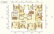 平安里3室2厅3卫145平方米户型图