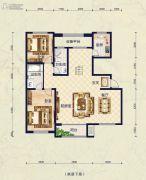 保艾尔云麓2室2厅2卫238平方米户型图