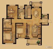 象屿两岸贸易中心3室2厅2卫130平方米户型图