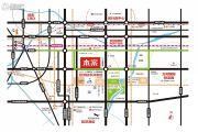新亚汽车金融广场交通图