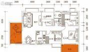佳兴大厦2室2厅2卫94平方米户型图