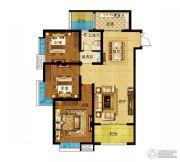 君河湾3室2厅1卫114平方米户型图