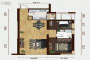 又一城・尚座2室2厅1卫89平方米户型图
