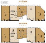 天山国宾壹�商业街123--147平方米户型图
