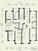 河畔丽景5室4厅2卫0平方米户型图