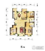 润枫领尚4室2厅2卫155平方米户型图