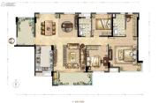 德润花园4室0厅0卫128--133平方米户型图