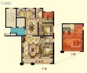 京都御府4室2厅3卫156平方米户型图