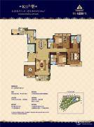 恒大水晶国际广场5室2厅3卫198平方米户型图