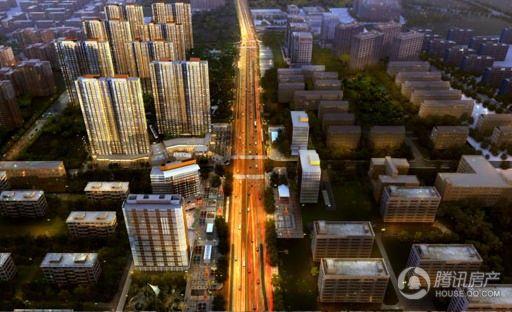 中建国际港楼体外观
