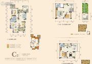 奥园城市天地3室2厅2卫102平方米户型图