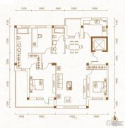 运通叁�第3室2厅2卫152平方米户型图