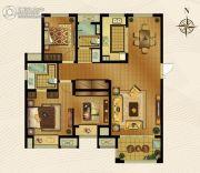 梅香雅舍2室2厅2卫122平方米户型图