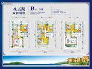 锦绣海湾城257平方米户型图
