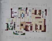 集美雅苑3室2厅2卫117平方米户型图