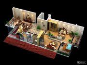 太白山水4室3厅2卫0平方米户型图