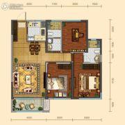 远洋大河宸章3室2厅2卫121平方米户型图