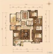 京能・天下川二期悦府4室2厅1卫0平方米户型图