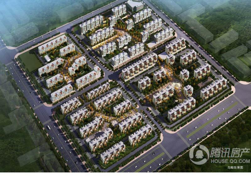 北京风景鸟瞰图