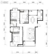 国贸商城・同悦2室2厅1卫0平方米户型图