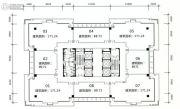 旺南世贸中心8室1厅1卫171平方米户型图