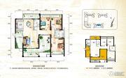 正茂顶秀港湾3室2厅2卫146平方米户型图