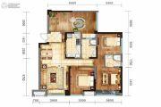 戛纳湾金棕榈3室2厅2卫98平方米户型图