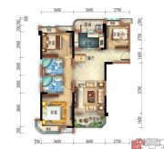 宜昌碧桂园3室2厅2卫114平方米户型图