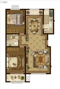 广厦・聚隆广场2室2厅1卫132平方米户型图
