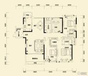 方直东岸3室2厅3卫165--168平方米户型图