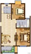 海洲・铂兰庭2室2厅1卫0平方米户型图
