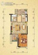 天隆三千海1室2厅1卫61平方米户型图