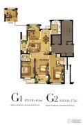 中央豪庭3室2厅2卫138平方米户型图