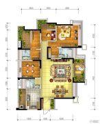 宏创・龙湾半岛3室2厅3卫173平方米户型图