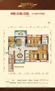 湛江君临世纪5室2厅2卫146平方米户型图
