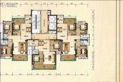 兴业花园2室2厅1卫88平方米户型图