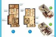 南京金奥缤润汇2室2厅1卫47平方米户型图