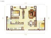 锦绣华城2室2厅2卫93--98平方米户型图
