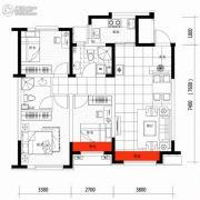 朗明居3室2厅2卫103平方米户型图