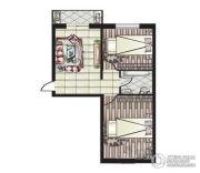 阳光新城2室1厅1卫0平方米户型图