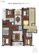 滨江保利・翡翠海岸5室2厅3卫192平方米户型图