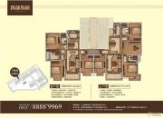 香苑东园3室2厅2卫148--170平方米户型图