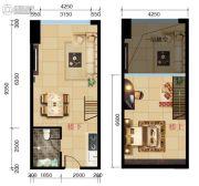 喜悦广场0室0厅0卫51--57平方米户型图