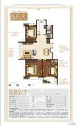 奥体国际星城3室2厅2卫133--134平方米户型图