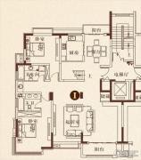 彩虹湖4室2厅2卫0平方米户型图